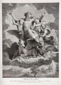 Nicolas de Larmessin (1684–1755) after Raphael (1483–1520) Vision of Ezekiel 1729 Engraving and etching