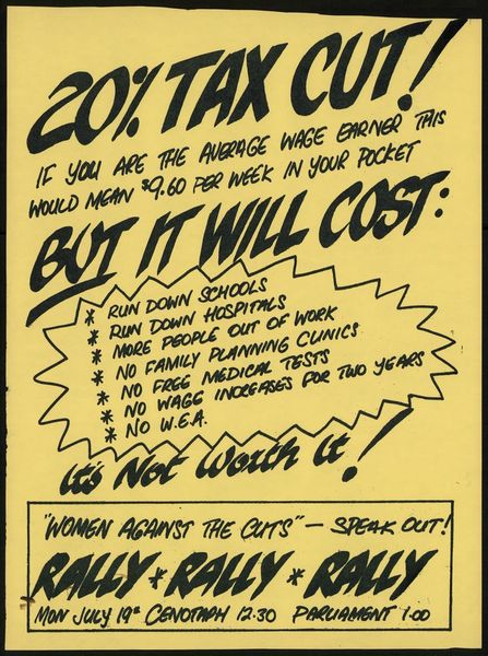 20% tax cut
