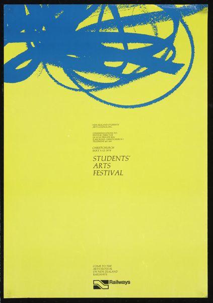 Students' Arts Festival, Christchurch May 5-12 1979.