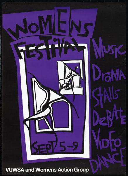 Womens Festival Sept 5-9.
