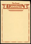 Great Depression Orientation '81.