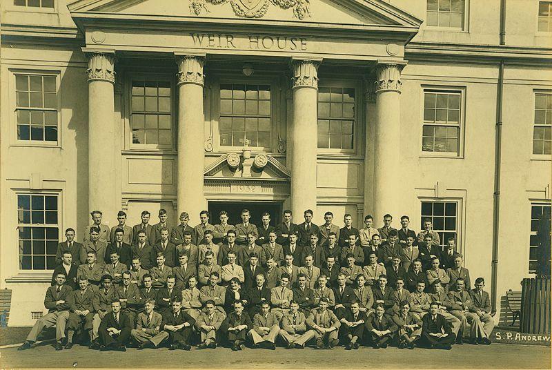 1936 Weir House residents