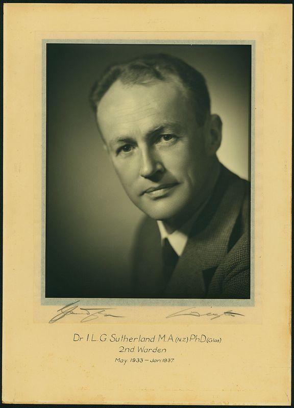 1933-1937 Portrait of Warden, Weir House