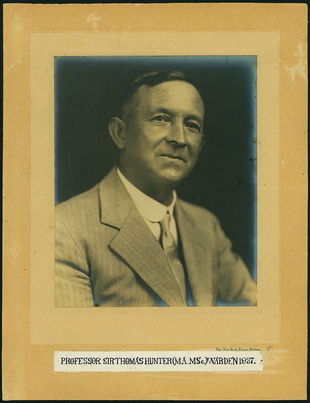 1937 Portrait of Warden, Weir House