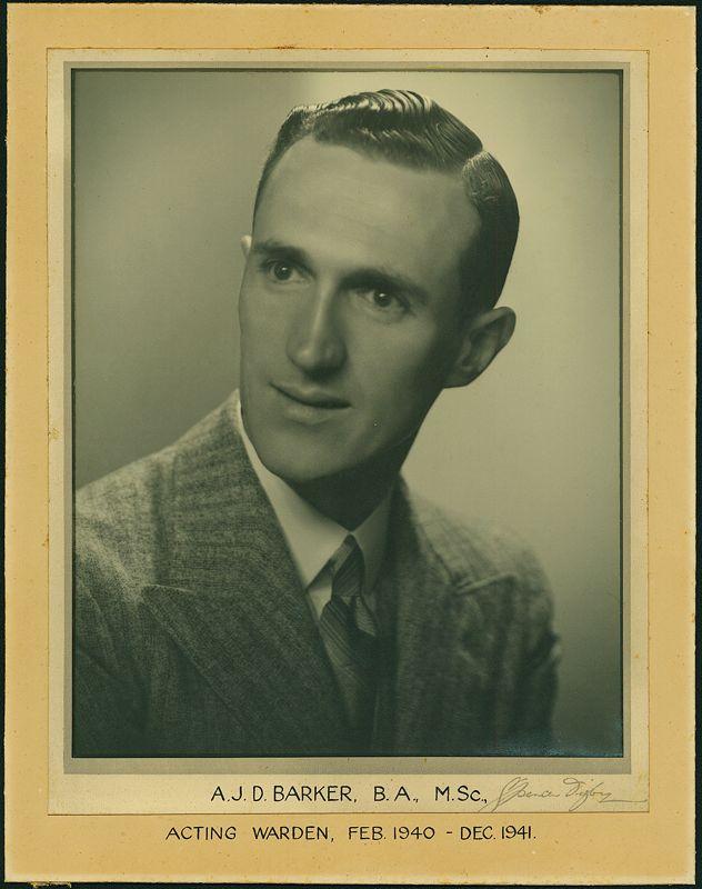 1940-1941 Portrait of Warden, Weir House