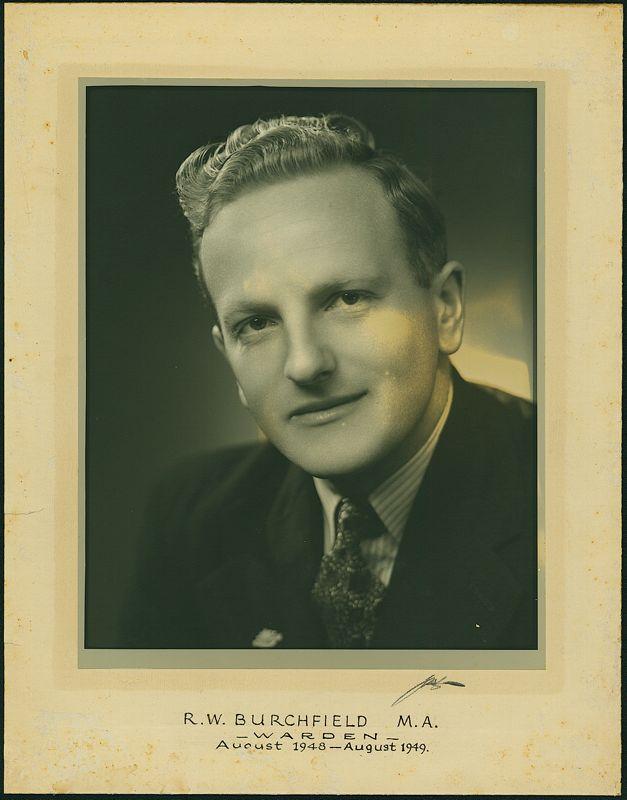 1948-1949 Portrait of Warden, Weir House