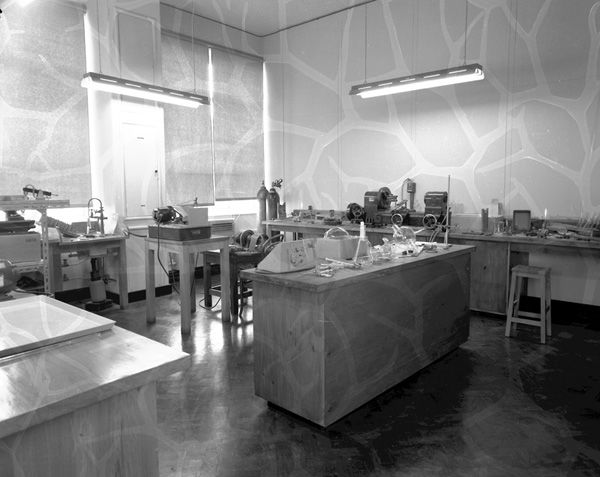 Interiors - Easterfield, Chemistry Dept.