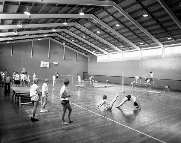 Interiors - Gymnasium