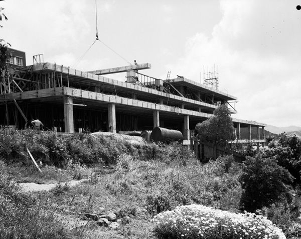 Buildings - Construction of Rankine Brown [level 4 begins]