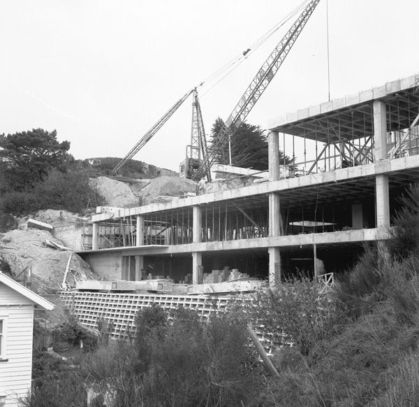 Buildings - Construction of Rankine Brown