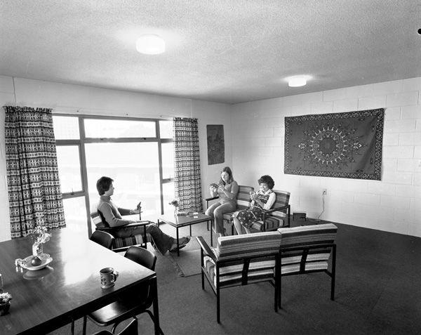 Interiors - Everton Hall, common room